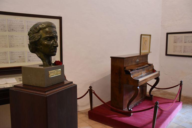 Piano de Chopin en Valldemossa