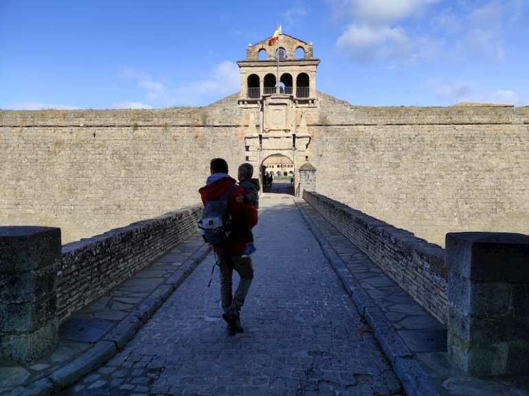 Puente de entrada a la Ciudadela