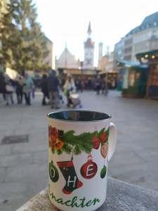 Vino caliente en Marienplatz