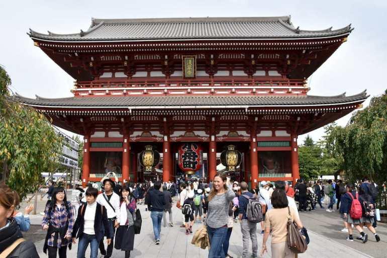 Templo Senso-ji en Asakusa