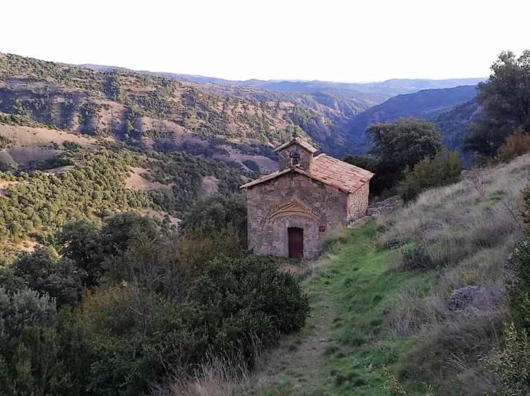Ermita del Racó, en Cambrils (Solsona)