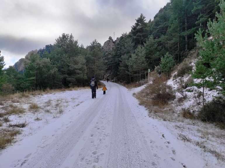 Camino al Santuari de Lord nevado