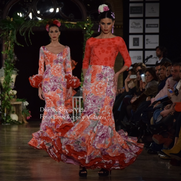 trajes de flamenca sergio vidal 2016