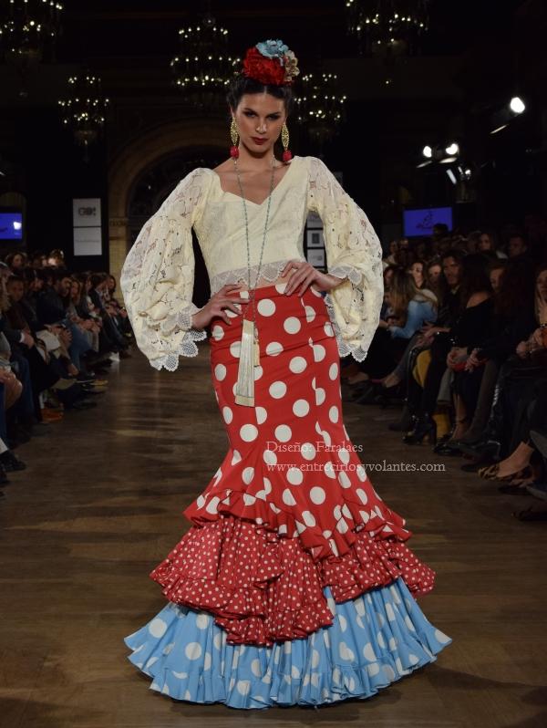 trajes de flamenca de lunares 2016 (8)