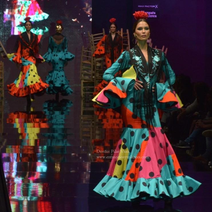trajes de flamenca de lunares (4)