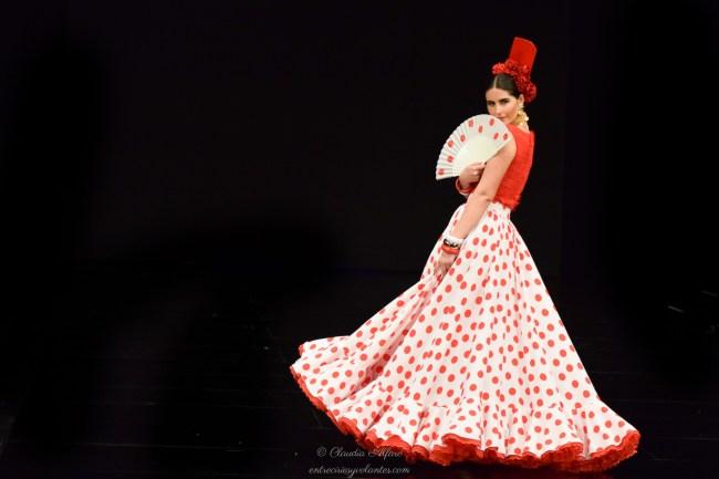 Simof 2017. Colección 'Carmen' de Luis Fernández. Foto: Claudia Alfaro para entreciriosyvolantes.com