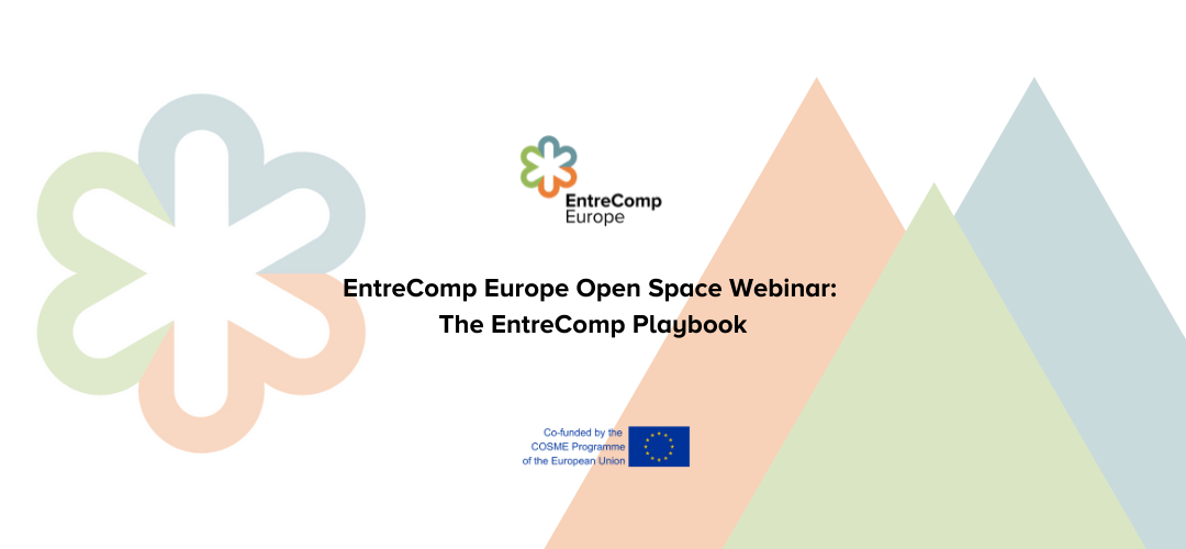 EntreComp Europe Open Space Webinar: The EntreComp Playbook