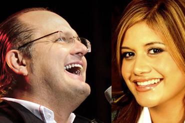 Marcela Gandara y Marcos Witt