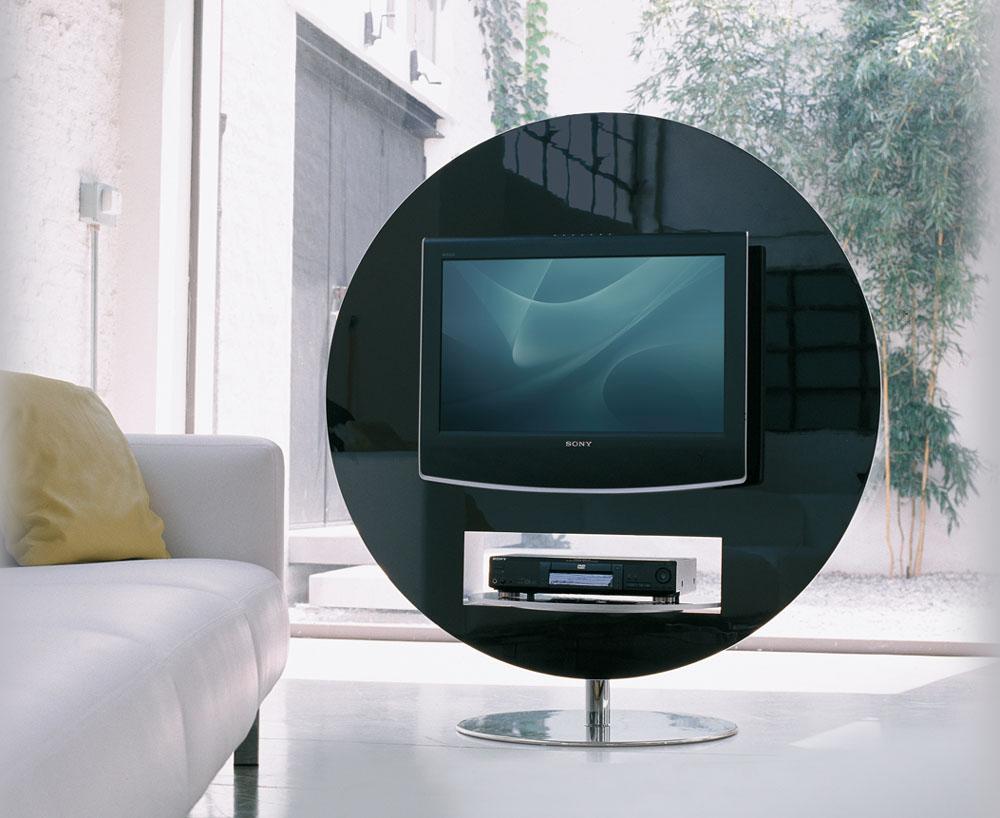 Mobilier De Bureau Design Meuble TV VISION Pivotant 360