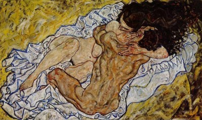 egon-schiele-the-embrace-1917