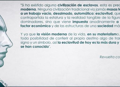 Julius Evola y su crítica al mundo moderno
