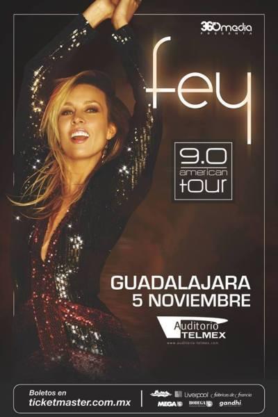 Fey Auditorio Telmex 2016