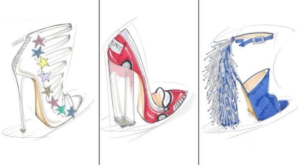 Katy Perry coleccion de zapatos.
