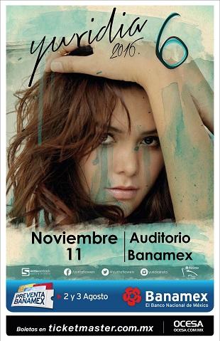 Yuridia Auditorio Banamex 2016