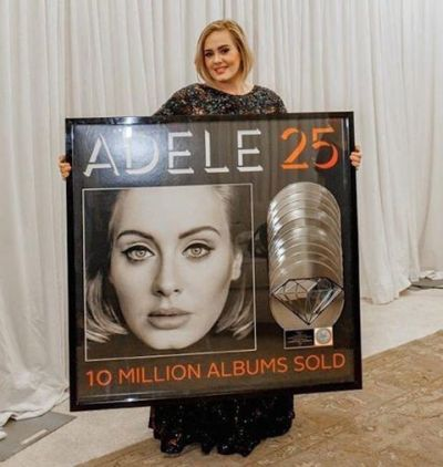Adele disco de Diamante