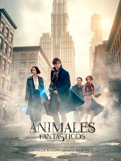 Animales Fantasticos y donde Encontrarlos nuevo poster