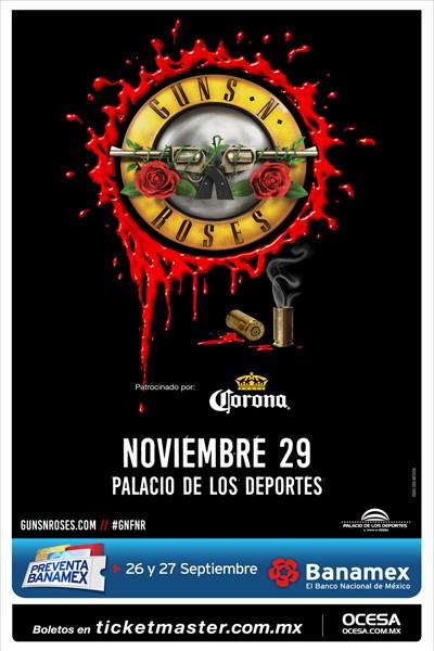 Guns N' Roses Palacio de los Deportes