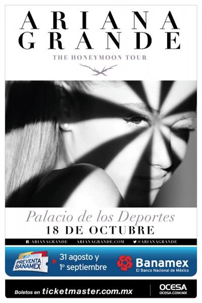 concierto Ariana Grande Mexico