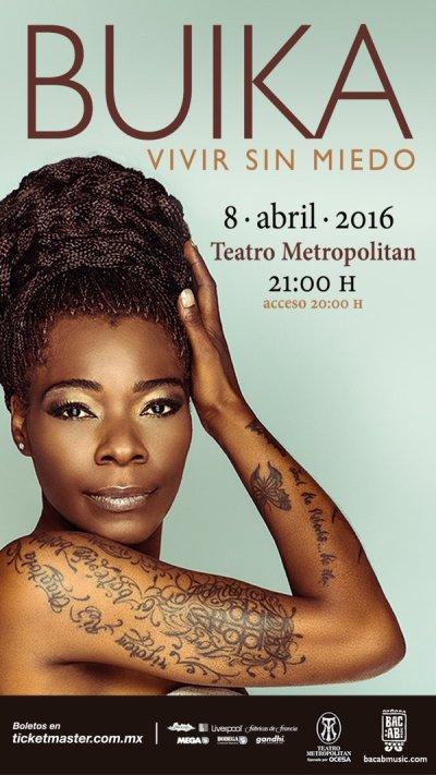Buika Teatro Metropolitan