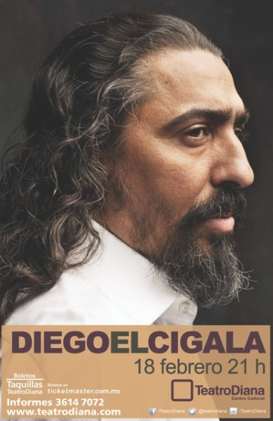 """Diego """"El Cigala"""" Teatro Diana"""