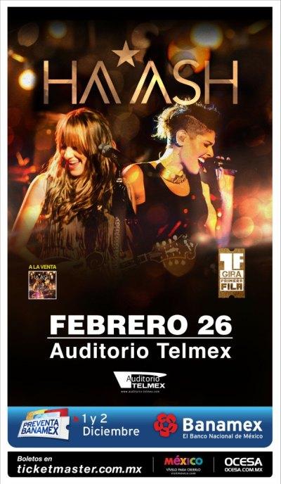 Ha*Ash Auditorio Telmex 2016