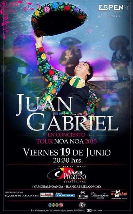 Juan Gabriel Plaza de Toros Nuevo Progreso