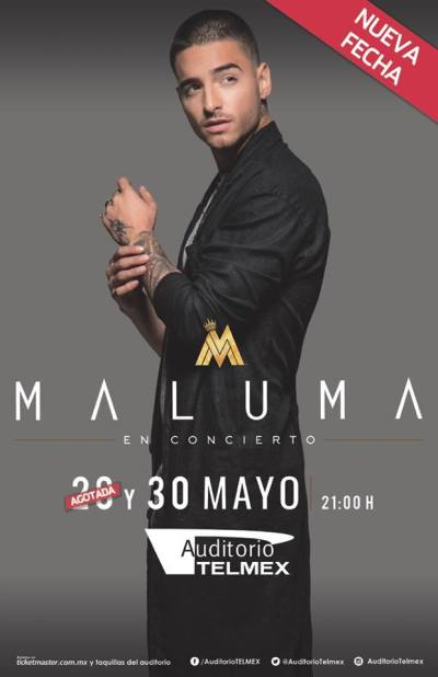 Maluma Auditorio Telmex