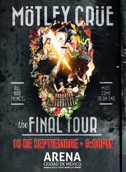 Mötley Crüe Arena Ciudad de Mexico
