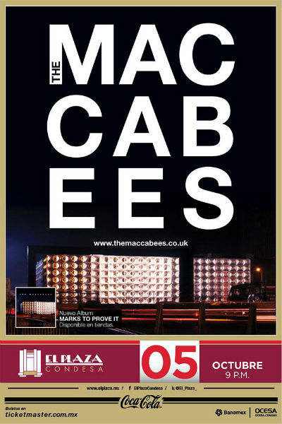 The Maccabees Plaza Condesa
