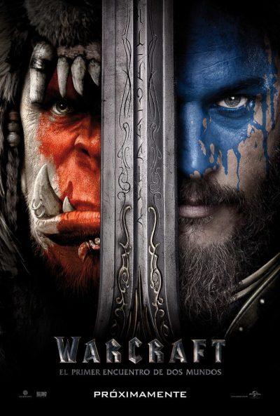 poster Warcraft El Primer Encuentro de Dos Mundos