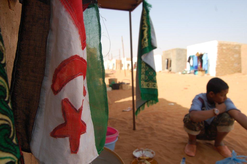 Imagen de uno de los campamentos de refugiados saharauis en Tinduf. / S.R
