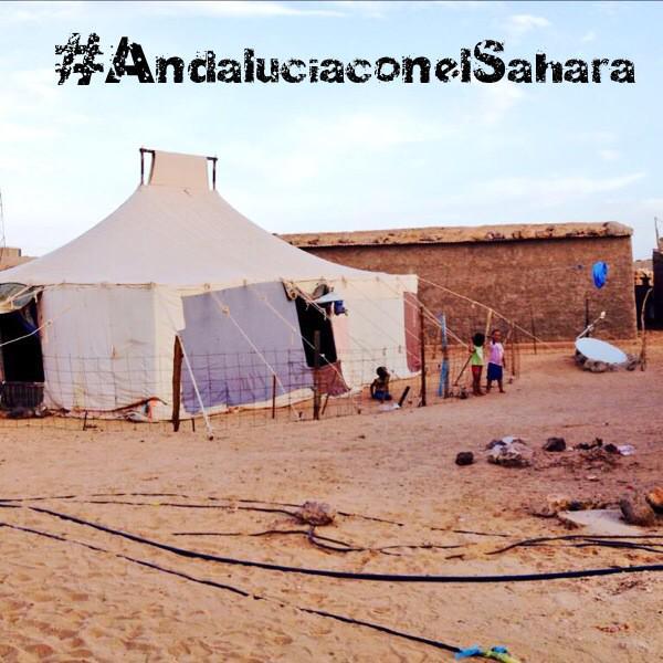 #AndaluciaconelSahara