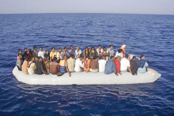 Migrantes en el Mediterráno. Foto: ACNUR/A. Di Loreto