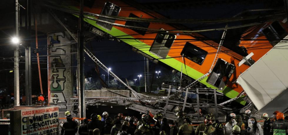 colapso del metro en línea 12