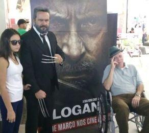 """Sessões de """"Logan"""" terão cosplayers na Moviecom"""
