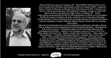 Paulo Cheida participa de Festival de Arte na Argentina