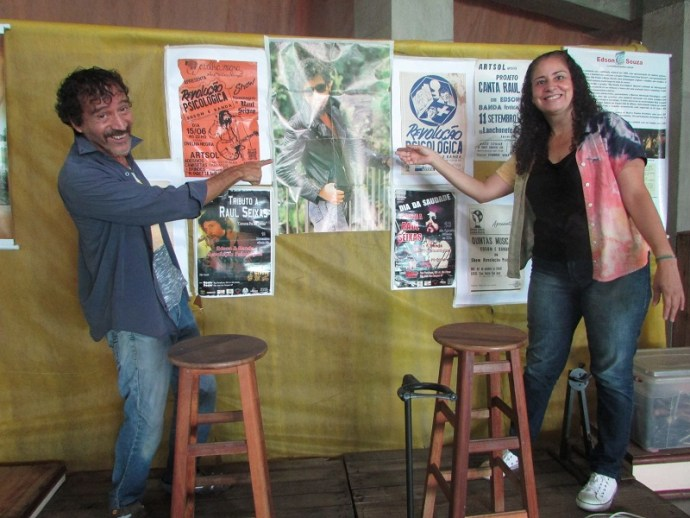 Zezé e Simões convidam Edson Souza para cantar no Utopia do Gosto.