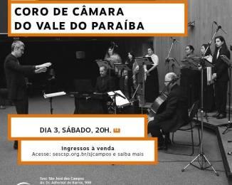 Apresentação do Coro de Câmara do Vale do Paraíba