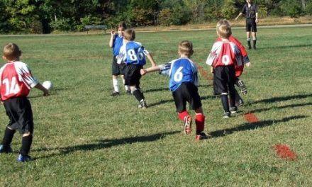 Ejercicios de futbol y juegos para niños