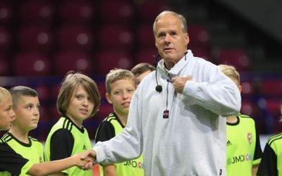 El formador de Futbol Horst Wein