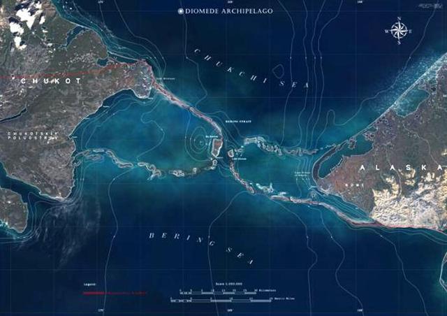 Resultado de imagen para Islas Diómedes
