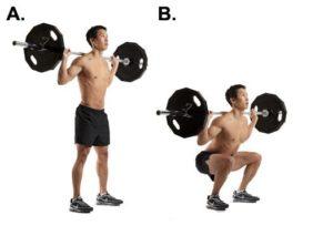 ejercicios para ponerse en forma sentadilla