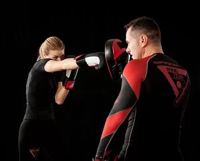 entrenar boxeo