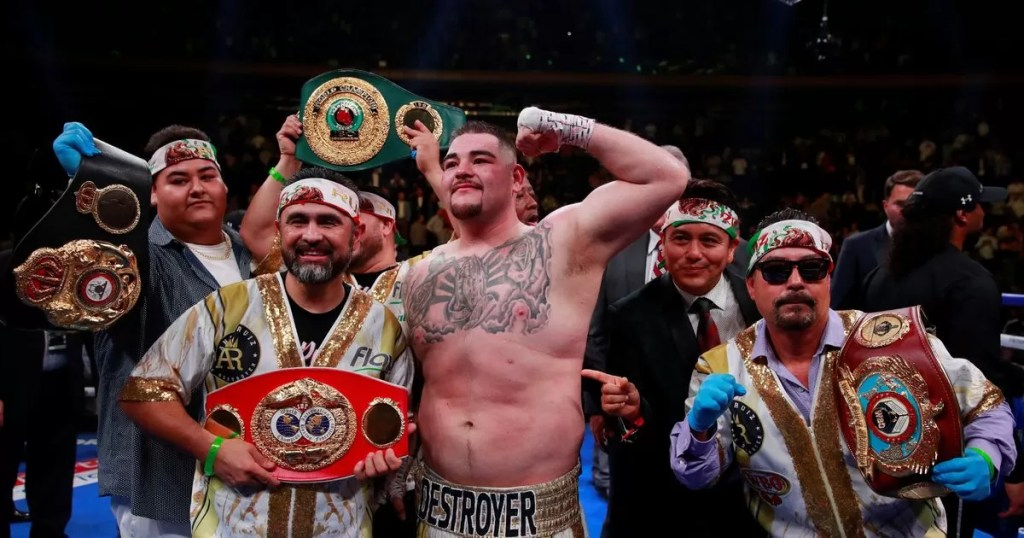 revancha ruiz joshua, noticias de boxeo, veladas, combate, pesos pesados