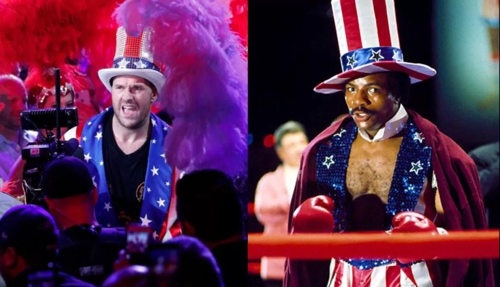 noticias de boxeo, combate pesos pesados, tyson fury, apollo creed, rocky