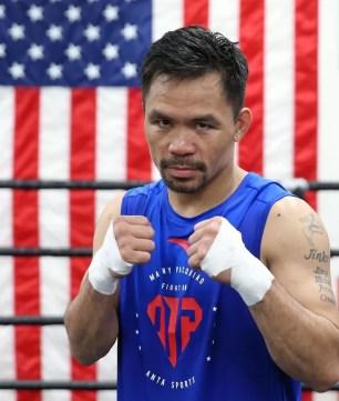 manny pacquiao contra thurman combate 20 de julio, entrenar boxeo, noticias de boxeo