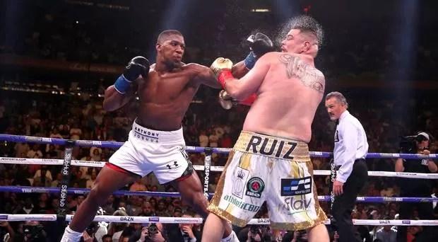 revancha joshua ruiz 2, diciembre en arabia saudi, noticias boxeo pesos pesados, velada, boxeadores, cinturones de campeon