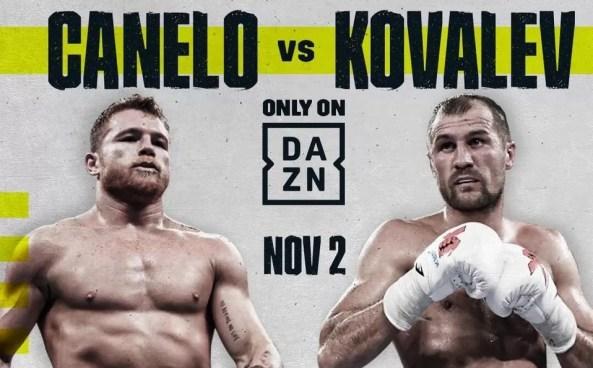 combate título mundial semipesados, saul canelo alvarez y sergey kovalev, velada dos de noviembre, noticias de boxeo