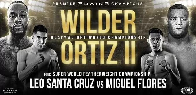 combate wilder vs ortiz 2 para el 23 de noviembre, pesos pesados, noticias de boxeo