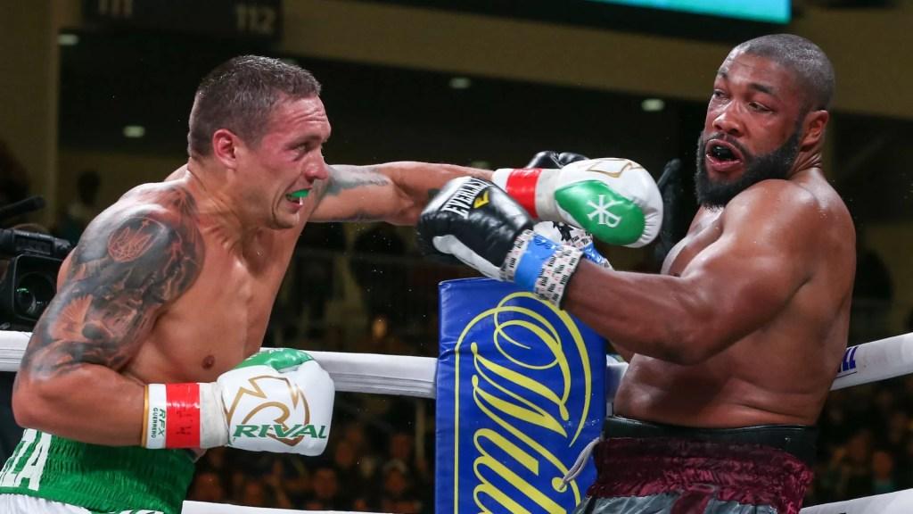 usyk vs witherspoon, noticias boxeo, combate pesos pesados resultado, victoria, boxeadores, favoritos, resumen en video